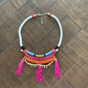 Baublebar rope tassel colorful necklace